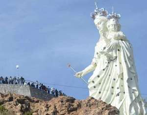 Bolivija statua
