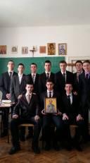 Ucenici prvog razreda Bogoslovije